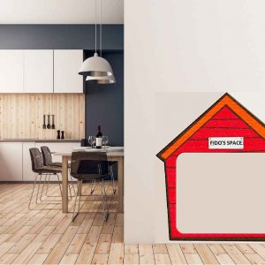 Dog house in kitchen - Home - Don Tech Digital | Skerries, Dublin