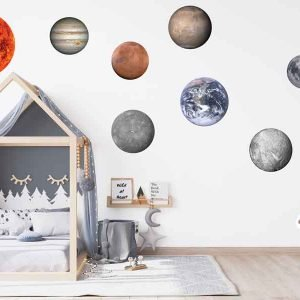bedroom with planet stickers2 - Home - Don Tech Digital | Skerries, Dublin