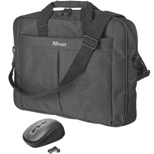 Laptop Bag and Wireless Mouse